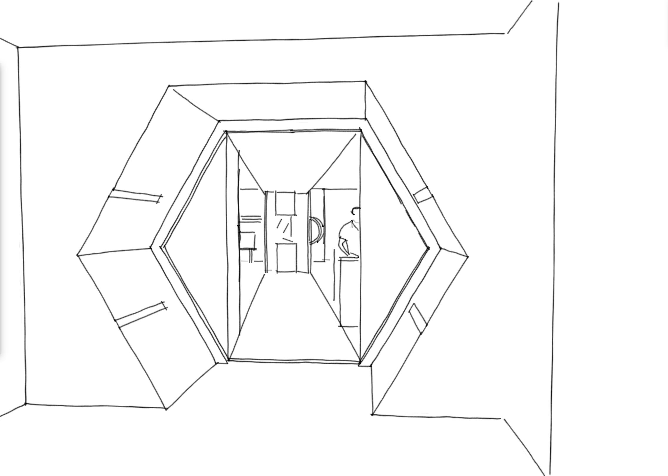 1. Immersive tunnel